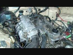 ENGINE CHANGEOVER 3Y Motor removed 22re installed - YouTube