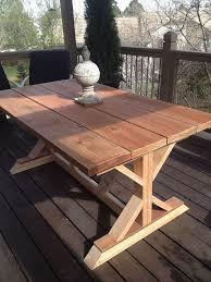 Bud Restoration Hardware Outdoor Table Replica