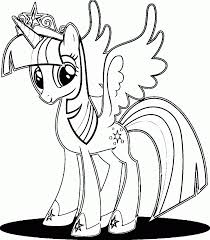 Small Picture My Little Pony Alicorn Sunset Shimmer Coloring Page Coloring