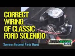 1977 ford f100 alternator wiring diagram images 84 ford f 250 1964 to 1970 ford solenoid wiring episode 245 autorestomod