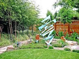 garden sculpture ideas landscape contemporary with stone column sculptures diy in garde
