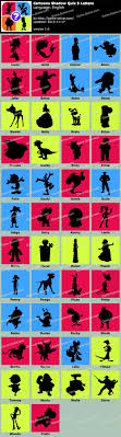 Cartoons Shadow Quiz 5 Letters