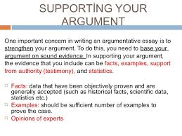argumentative essay  research findings 25