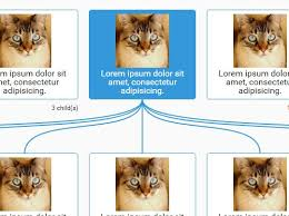 Animated Organizational Chart Animated Organization Chart Tree Diagram Plugin Stiff