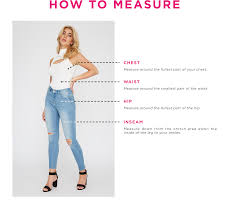 Charlotte Russe Size Guide