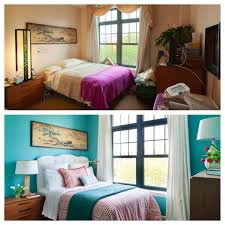 Bedroom Makeover Before And After Endearing Depict Small Makeovers