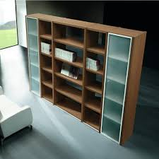 office furniture shelves. Libreria 01 - Office Bookcase Height 215 Cm, Canaletto Walnut Furniture Shelves H
