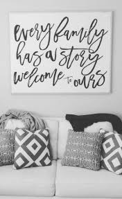 Every family has a story welcome to ours, Family quote art, Home decor, Family  wall art, ...
