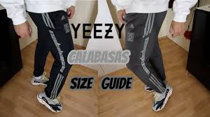 Sizing Update Adidas Yeezy Calabasas Pants Luna Ink Wolves Unboxing