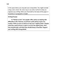 Essay On Advice Advice Essay Prompt