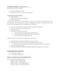 Non Planning Meeting Agenda Template Training Department Subject