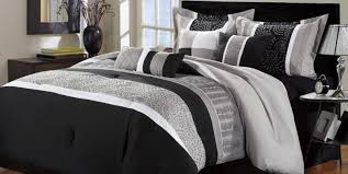 delighted twin comforter sets tags  black white bedding pale pink