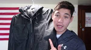 kenneth cole reaction leather moto jacket
