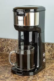 Addadd nescafe azera espresso roast coffee bags 10s 80g to basket. Sboly Single Serve Coffee Maker Review The Gadgeteer