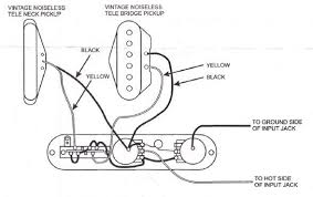 wiring diagram for fender telecaster the wiring diagram stratocaster vintage noiseless pickups wiring diagram wiring diagram