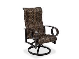 attractive high back patio chair with modern concept rocker patio chairs with aruba ii sling dining