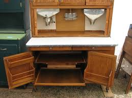 Cutting Board Cabinet Interior Of Our 1925 1928 48 Hoosier Highboy Cabinet With Flour