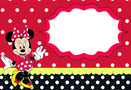 Free Minnie Mouse Birthday Invitations The Largest Collection Of Free Minnie Mouse Invitation
