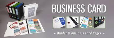 Business Card Binder Organization Kits Business Card Holder Sheets