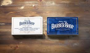 Barber Business Cards Design Holiday Mall Barbershop Business Card Design On Behance