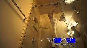 vitralum glass solutions aqua glider sliding shower enclosure installation you