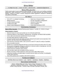 Medical Billing Resume Template Inspiration Medical Billing Resume Sample SharePDFnet Resume Pinterest