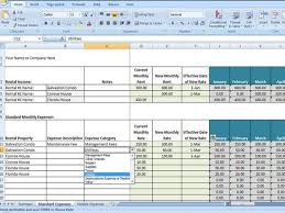 Itemized List Of Expenses Template Vacation Rental Income And Expense Tracking Template Short