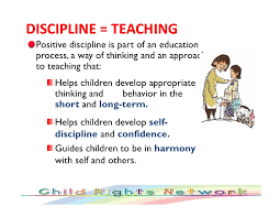 positive discipline discipline teaching
