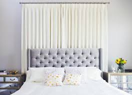 bedroom curtains behind bed. Curtain Ceiling Mounted Bed Width Bedroom Curtains Behind E