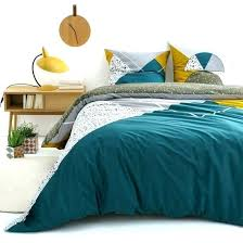 cotton duvet cover la image 0 mustard yellow linen from prod cb2 coloured sets