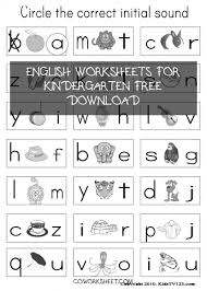 Print the worksheets about christmas and complete the exercises to help you practise your english! 4 English Worksheets For Kindergarten Free Download Coworksheets