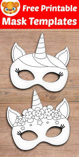 Coloring pages helps to improve motor skills and understanding of colors. Free Printable Masquerade Masks Template 123 Kids Fun Apps Mask Template Printable Unicorn Mask Mask Template