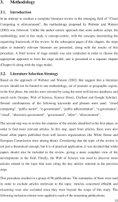 the first research paper for methodology
