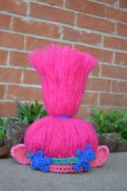 Trolls Crochet Hat Pattern Simple Free Poppy Troll Hat Crochet Pattern Crochet Top It Off