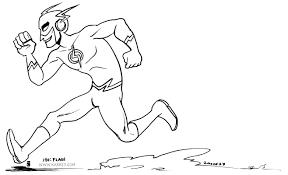The Flash Coloring Pages - coloringsuite.com