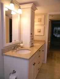 bathroom counter storage tower bathroom vanity countertop storage tower