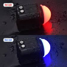 Mini Rechargeable Led Video Light Diving Photography Lamp Underwater
