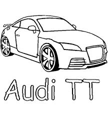 Audi Tt Kleurplaat Kleurplaten Colouring Pictures Audi