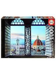 <b>Пазл</b> 1000 деталей - Вид на Флоренцию, Италия <b>Educa</b> 9472070 ...