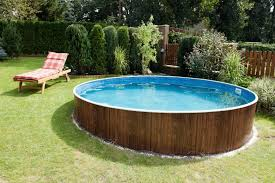 backyard above ground pool designs 14 great above ground swimming pool