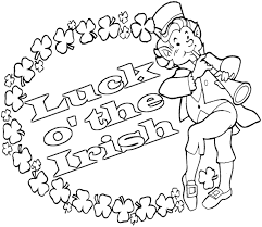 Small Picture Printable Irish Colouring Pages Mediafoxstudiocom