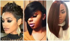 Black Girls Trending Bob Haircuts Black Women Hairstyles