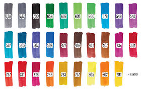 All The Royal Talens Ecoline Brush Pen Colors Winterbird