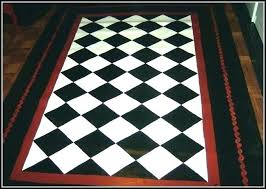 black and white kitchen rug black and white kitchen rugs black and white checd rug red