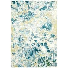 light teal rug watercolor ivory green rugs light teal rug blue indoor outdoor area arabesque