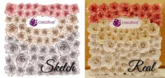 Paper Flower Wedding Backdrops Giant Paper Flower Backdrop Custom End 1 27 2019 4 15 Pm