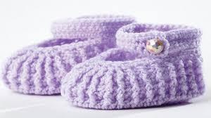 Mary Jane Baby Booties Crochet Pattern Free