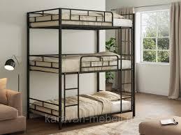 <b>Трехъярусная кровать Эверест</b> черный от 22 900 руб.: продажа ...