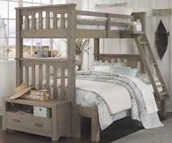 Driftwood Bedroom Furniture 10055 Harper Twin Over Full Size Bunk Bed Highlands Beds Ne
