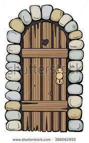 old door clipart clipartfest